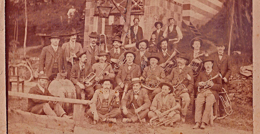 Corpo musicale di Tirano - anno 1900