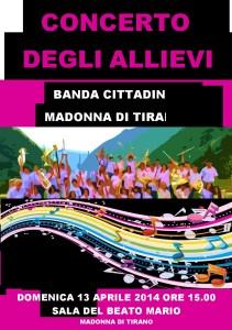 concerto allievi 2014